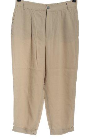 Zara Baggy Pants cream casual look
