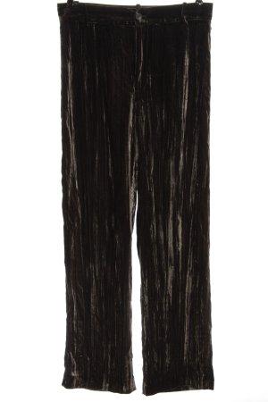 Zara Baggy Pants bronzefarben Casual-Look