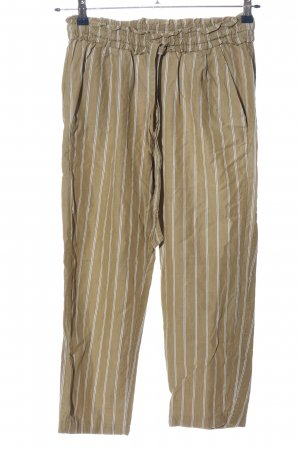 Zara Baggy Pants Streifenmuster Casual-Look