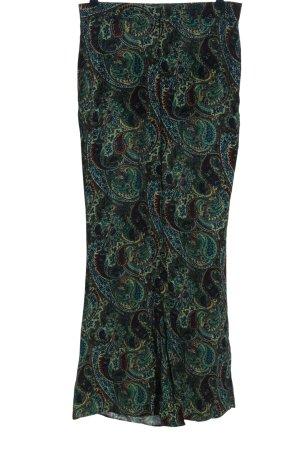 Zara Baggy Pants abstraktes Muster Casual-Look