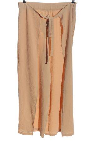 Zara Baggy Pants nude casual look