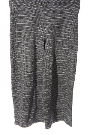 Zara Baggy Pants light grey-white allover print casual look