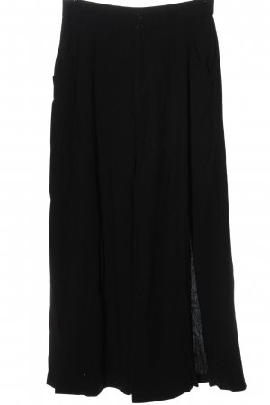 Zara Pantalon «Baggy» noir style décontracté