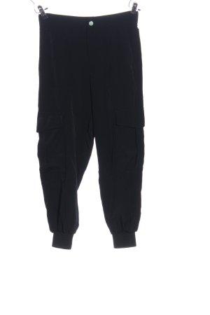 Zara Baggy broek zwart casual uitstraling