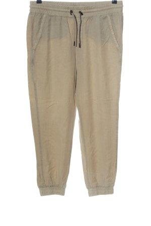 Zara Baggy Pants hellgrau Casual-Look
