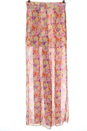 Zara Baggy Pants allover print casual look