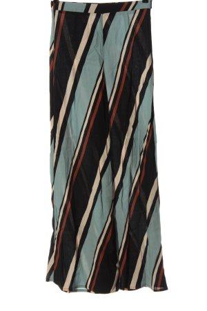 Zara Luźne spodnie Wzór w paski W stylu casual