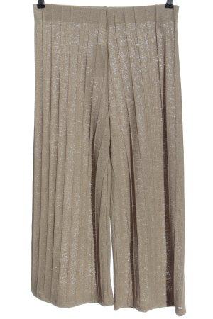 Zara Baggy Pants wollweiß Casual-Look
