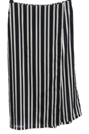 Zara Culottes schwarz-weiß Streifenmuster Casual-Look