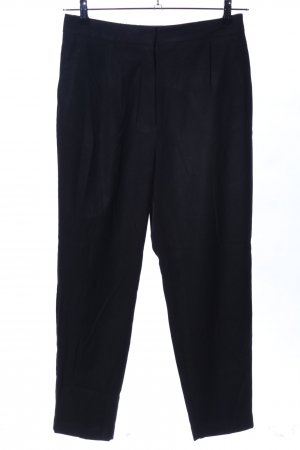 Zara Baggy Pants schwarz Business-Look