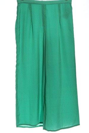 Zara Baggy Pants green-blue allover print casual look