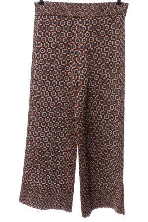 Zara Luźne spodnie Na całej powierzchni W stylu casual