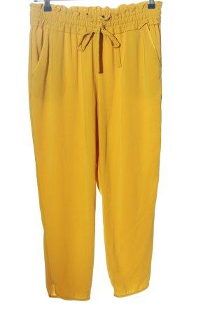 Zara Baggy Pants light orange casual look