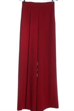 Zara Baggy Pants rot Business-Look