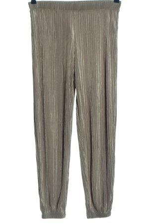Zara Baggy broek lichtgrijs casual uitstraling
