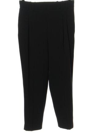 Zara Pantalón abombado negro estilo «business»