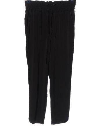 Zara Baggy Pants black casual look