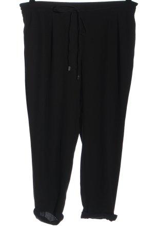 Zara Baggy Pants schwarz Business-Look