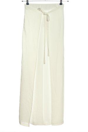 Zara Baggy Pants weiß Casual-Look