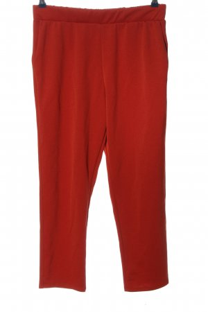 Zara Baggy Pants rot Casual-Look