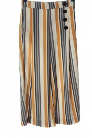 Zara Baggy broek gestreept patroon casual uitstraling
