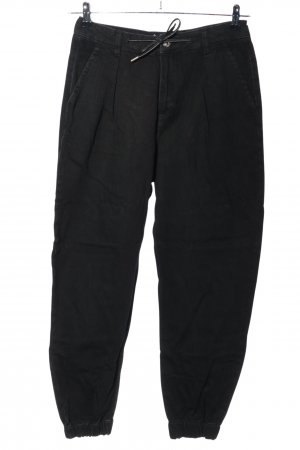 Zara Jeans larghi nero stile casual
