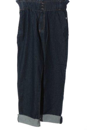 Zara Workowate jeansy niebieski W stylu casual