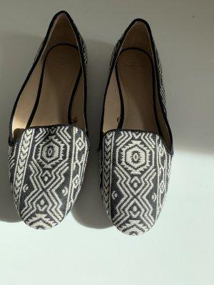 Zara Pantofola nero-bianco