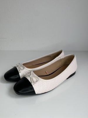 Zara Ballerinas Black & White