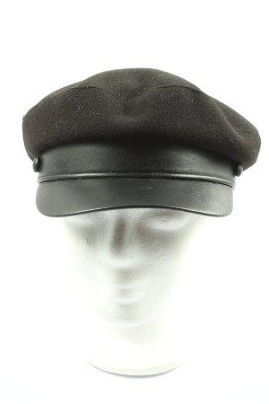 Zara Gorra redonda con visera negro look casual