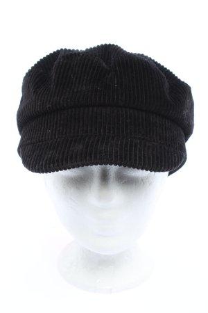 Zara Baker's Boy Cap black simple style