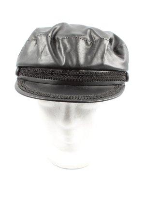 Zara Cappello da panettiere nero stile casual