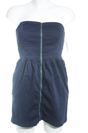 Zara Bandeaukleid dunkelblau Casual-Look
