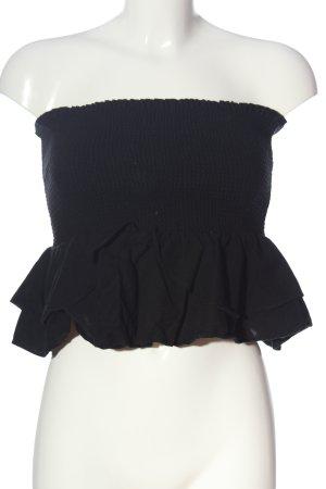 Zara Haut bandeau noir style décontracté