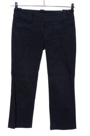 Zara Basic 3/4-Hose schwarz Casual-Look