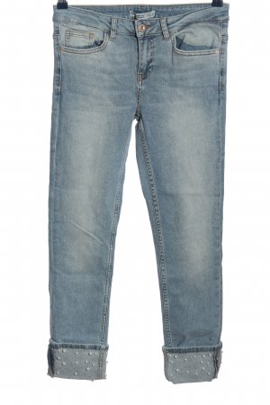 Zara Basic 3/4 Length Jeans blue casual look