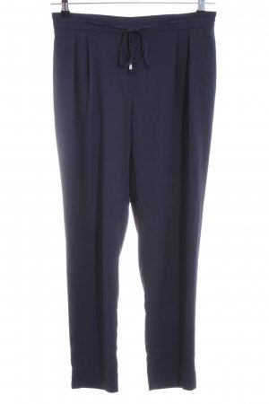 Zara Basic 7/8-Hose blau Casual-Look