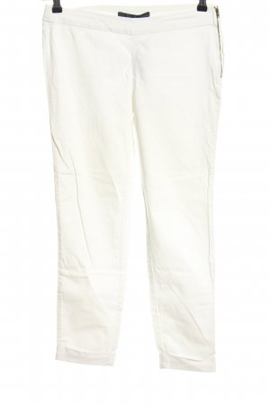 Zara Basic 7/8-Hose weiß Casual-Look