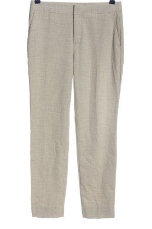 Zara Basic 7/8-broek wolwit zakelijke stijl