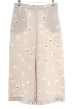 Zara Basic 7/8-Hose Blumenmuster