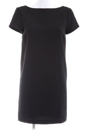 Zara Basic A-Linien Kleid schwarz Business-Look