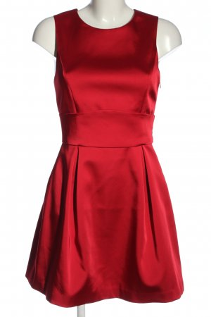 Zara Basic A-Linien Kleid rot Casual-Look