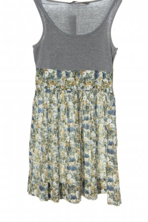 Zara Basic A-Linien Kleid Allover-Druck Casual-Look