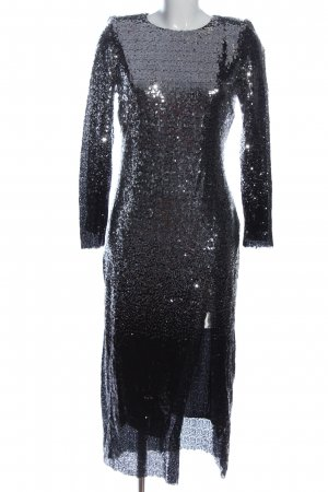 Zara Basic Abendkleid hellgrau Elegant