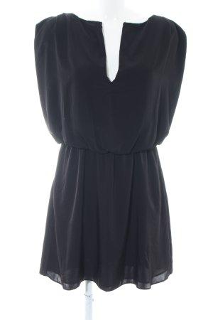 Zara Basic Abendkleid schwarz Casual-Look