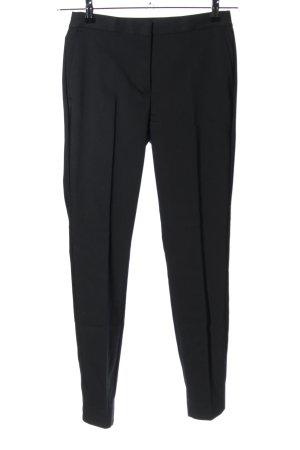 Zara Basic Spodnie garniturowe czarny W stylu biznesowym
