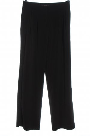Zara Basic Pantalon de costume noir style décontracté