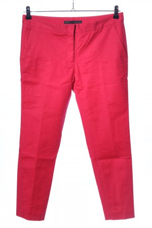 Zara Basic Anzughose rot Business-Look