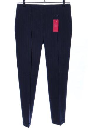 Zara Basic Pantalón de vestir azul estilo «business»