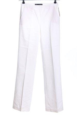 Zara Basic Pantalón de vestir blanco estilo «business»